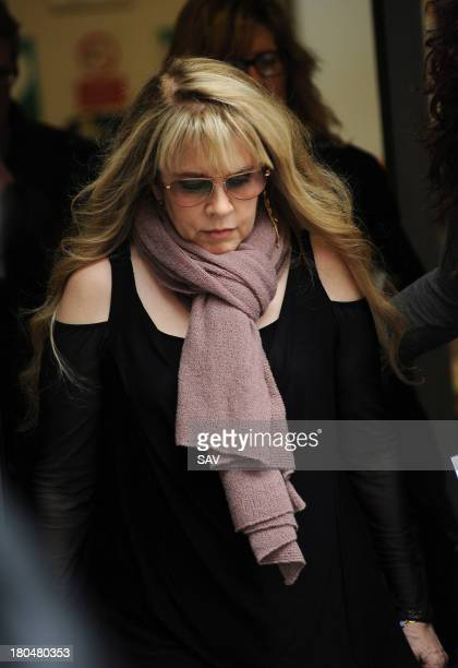 Stevie Nicks sighted at the BBC on September 13 2013 in London England