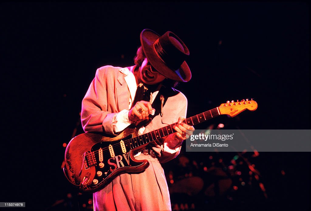 stevie ray vaughn live in concert getty images. Black Bedroom Furniture Sets. Home Design Ideas