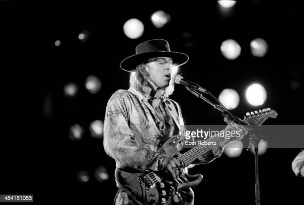 Stevie Ray Vaughan performing at the Pier in New York City on June 26 1986