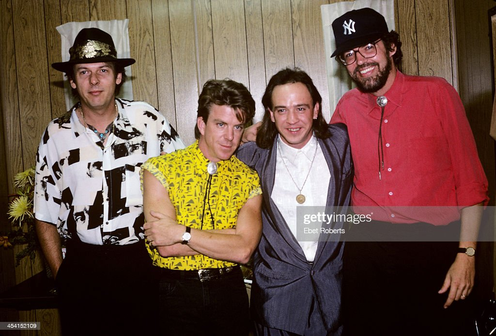 Stevie Ray Vaughan with Double Trouble at the Pier in New York City on August 15, 1987.