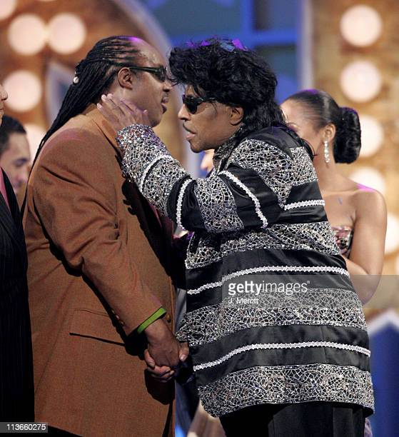 Stevie Wonder and Little Richard presenters of the Discretionary Award Pop Culture to Don Cornelius and 'Soul Train'