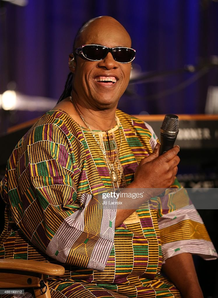 Stevie Wonder annonces 'Songs in the Key of Life' performance at the Grammy Museum on September 10, 2014 in Los Angeles, California.