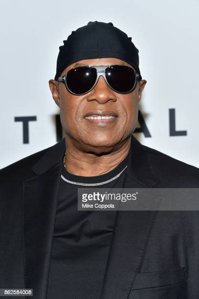Stevie Wonder attends TIDAL X Brooklyn at Barclays Center of Brooklyn on October 17 2017 in New York City