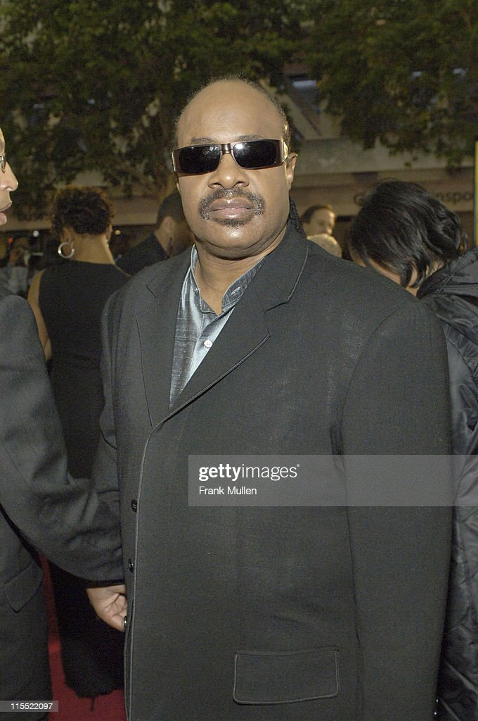 Stevie Wonder during 2006 Trumpet Awards - Arrivals at Georgia World Congress Center in Atlanta, Georgia, United States.