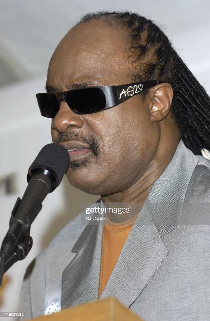 <a gi-track='captionPersonalityLinkClicked' href=/galleries/search?phrase=Stevie+Wonder&family=editorial&specificpeople=171911 ng-click='$event.stopPropagation()'>Stevie Wonder</a> during LIVE 8 - Philadelphia - Press Room at Philadelphia Museum of Art in Philadelphia, Pennsylvania, United States.