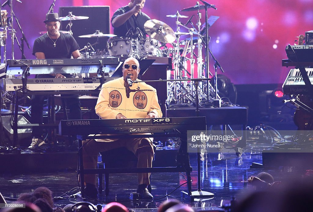 <a gi-track='captionPersonalityLinkClicked' href=/galleries/search?phrase=Stevie+Wonder&family=editorial&specificpeople=171911 ng-click='$event.stopPropagation()'>Stevie Wonder</a> performs at the 2013 BET Awards at Nokia Plaza L.A. LIVE on June 30, 2013 in Los Angeles, California.
