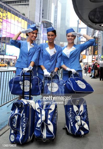 AMERICA Stewardesses of ABC's 'Pan Am' appears on 'Good Morning America' 9/23/11 airing on the ABC Television NetworkSTEWARDESSES