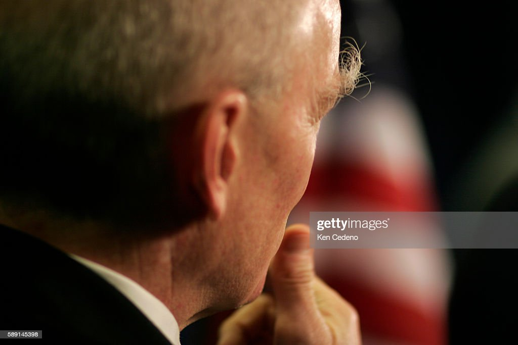 Stewart Baker Asstistant Secretary for Policy DHS speaks to the press February 21 2006 regarding plans to allow a company controlled by the United...