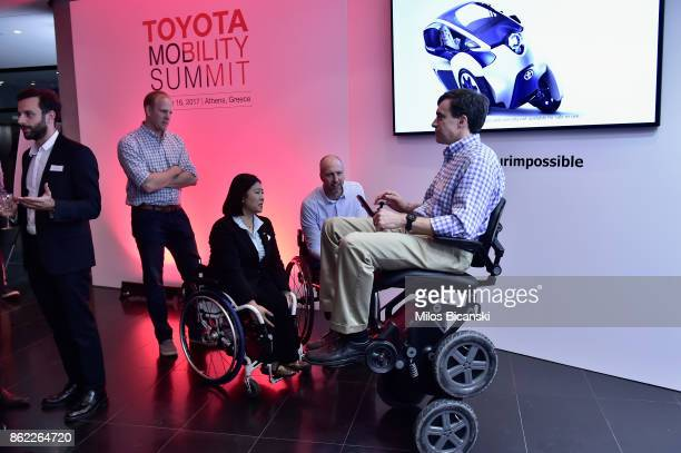 Stewart Coulter attends the Toyota Mobility Summit on October 16 2017 in Athens Greece