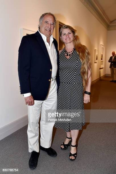 Stewart F Lane and Bonnie Comley attend the Guild Hall 2017 Summer Gala Celebrating AVEDON'S AMERICA at Guild Hall on August 11 2017 in East Hampton...