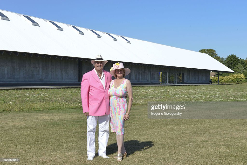 Stewart F. Lane and Bonnie Comley attend the Naming Celebration For Stewart F. Lane & Bonnie Comley Event Lawn at the Parrish Art Museum on August 29, 2014 in Water Mill, New York.