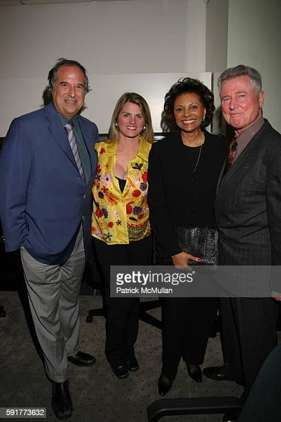 Stewart F Lane Bonnie Comley Leslie Uggams and Grahame Pratt attend A Centennial Celebration for Harold Arlen at The Museum of Television and Radio...