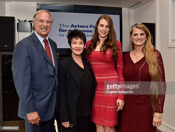 Stewart F Lane Bonnie ComleyChita Rivera Leah Lane and Bonnie Comley attend The Actors Fund Dedication For Stewart F Lane Bonnie Comley at The Actors...