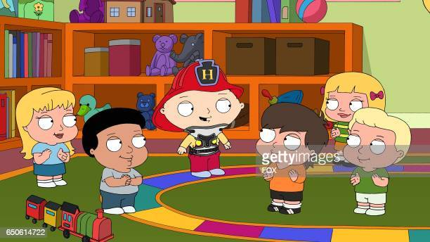 Stewie finds out he has scoliosis in the The Dating Game' episode of FAMILY GUY airing Sunday Mar 5 on FOX