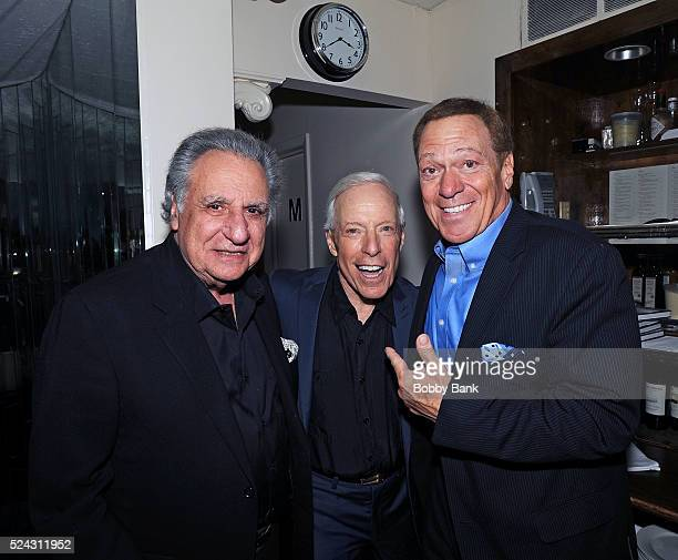 Stewie Stone Jerry Blavat and Joe Piscopo attend the Bobby Rydell 'Teen Idol On The Rocks A Tale Of Second Chances' Book Release And Birthday Party...