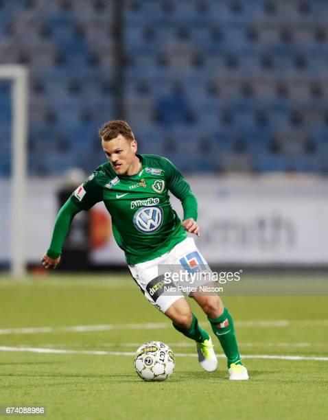 Stian Aasmundsen of Jonkopings Sodra IF during the Allsvenskan match between IFK Norrkoping and Jonkopings Sodra IF at Ostgotaporten on April 27 2017...