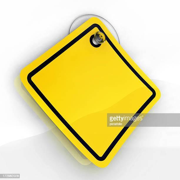 Adhesiva de advertencia