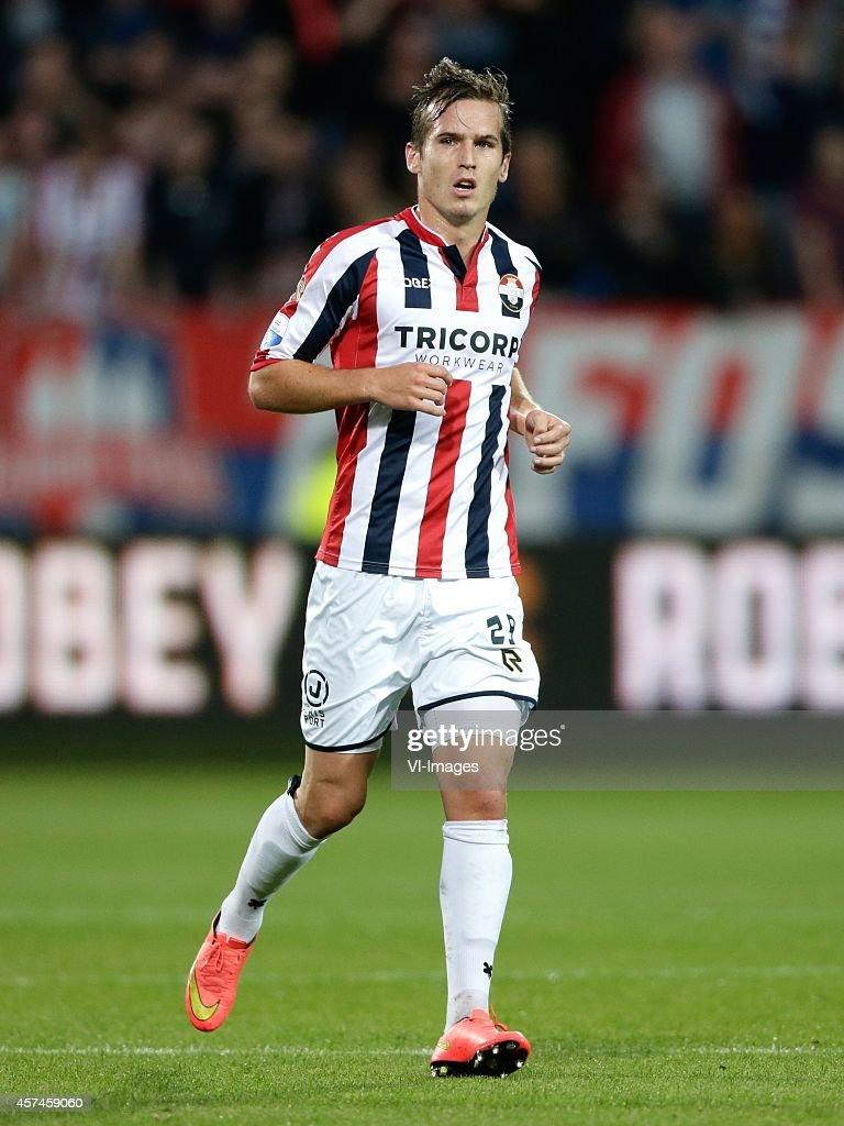 Stijn Wuytens of Willem II during the Dutch Eredivisie match between Willem II Tilburg and Vitesse Arnhem at Koning Willem II stadium on October 18...