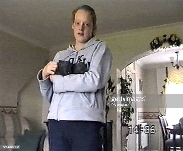 A still from a video tape released featuring Danielle Jones who has beeen missing for more than a week Essex detectives say that Danielle vanished...