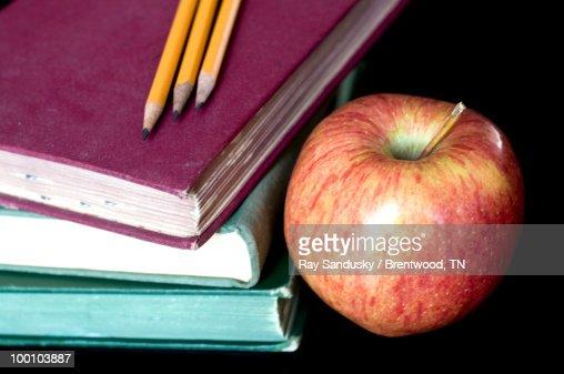 Still Life For Education or Teacher : Stock Photo