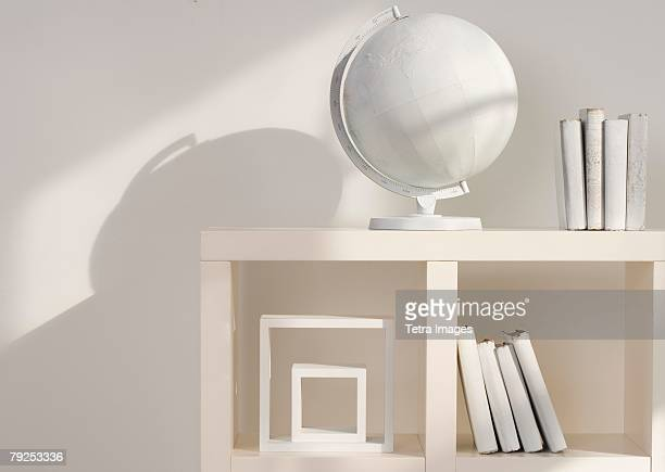 Still life of a bookcase