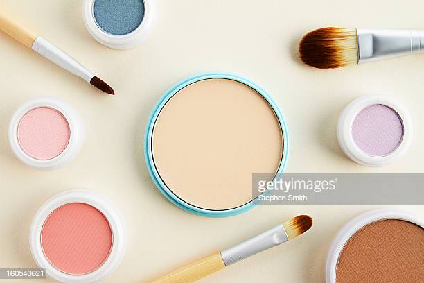 still life of beauty products