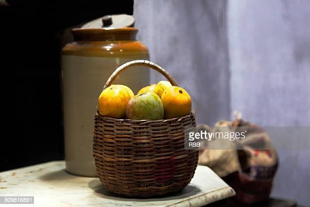 Still life of Mangoes
