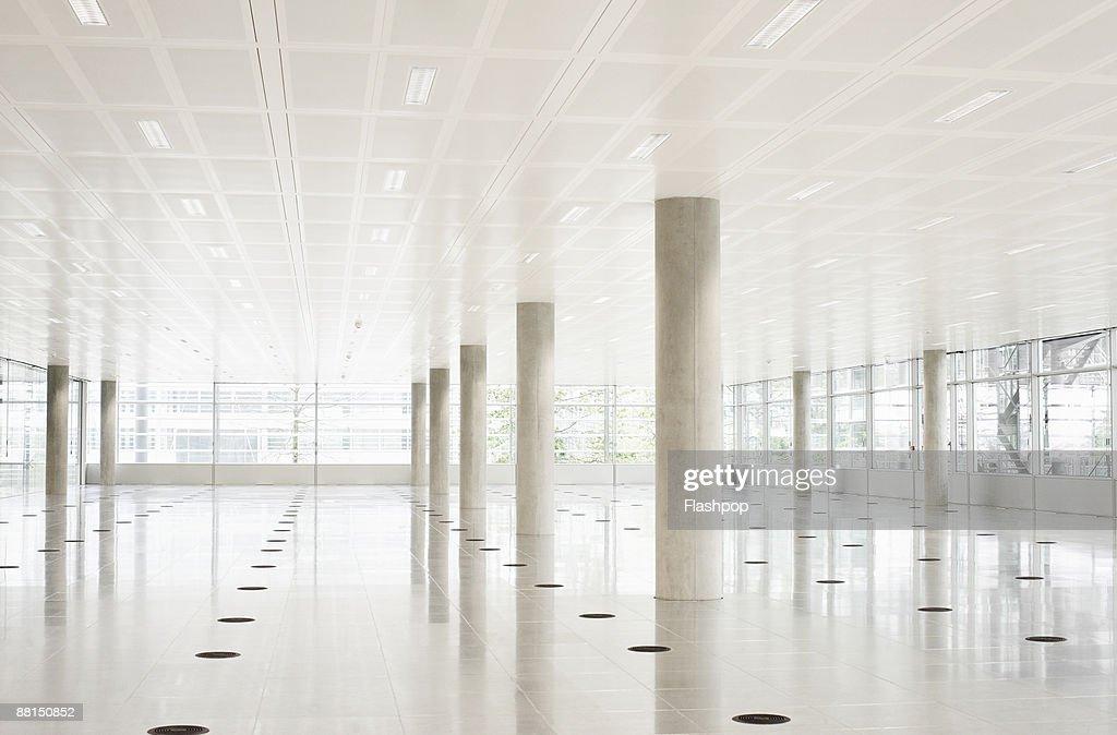 Still life of modern empty office space