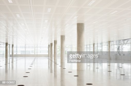 Still life of modern empty office space : Stock Photo
