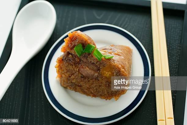 Still life of rice dumpling