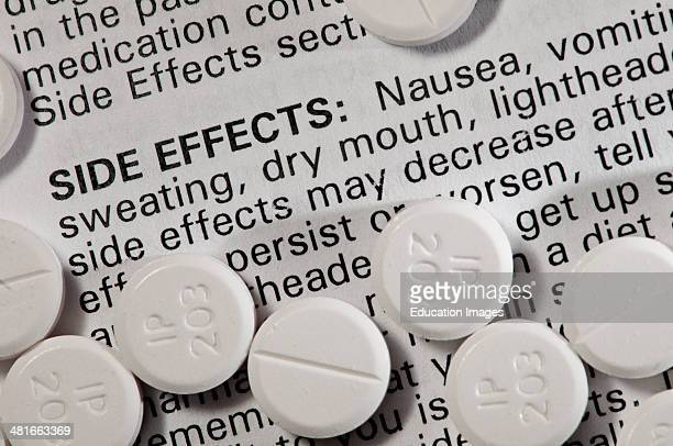 Still life Oxycodone Showing the side effects Oxycodone is a narcotic pain reliever Oxycodone has a high abuse potential and is prescribed for...