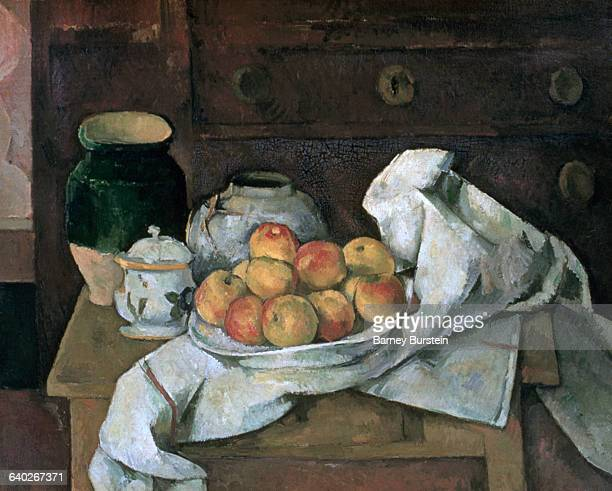 Still Life with a Commode by Paul Cezanne