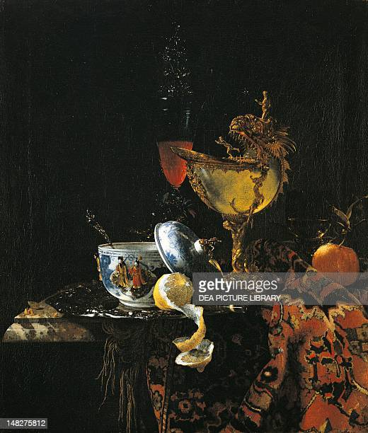 Still life with a Nautilus cup by Willem Kalf LuganoCastagnola Villa Favorita