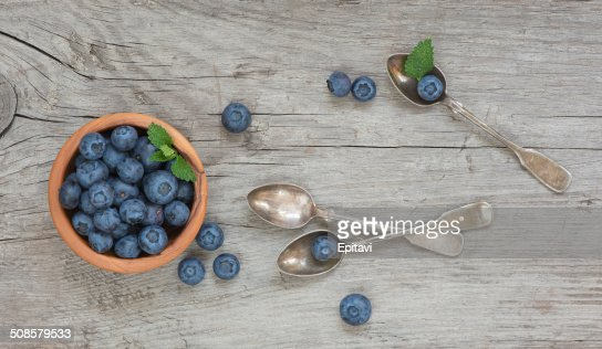Still life with blueberry : Stock Photo