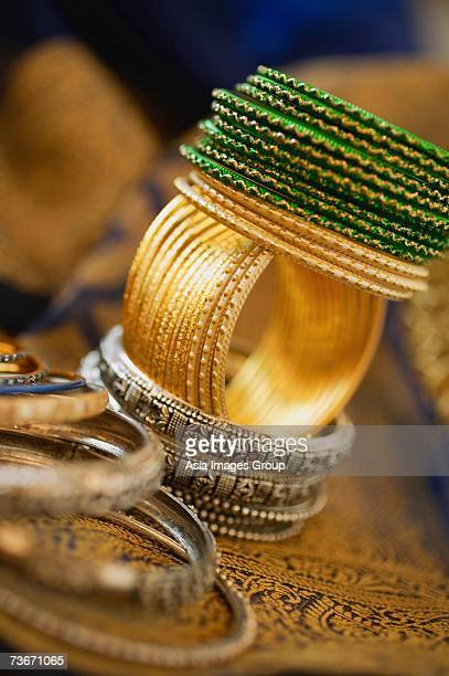 Still life with Indian bangles
