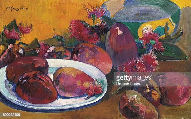 Still Life with Mangoes ca 18911896 Private Collection Artist Gauguin Paul Eugéne Henri