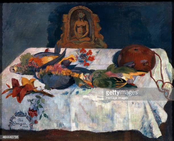 'Still life with Parrots' 1902 Found in the collection of the State A Pushkin Museum of Fine Arts Moscow