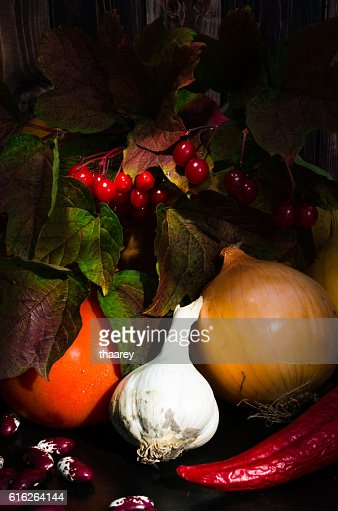 Still life with vegetables : Stock Photo