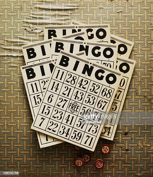 Still Life-Retro Bingo Cards