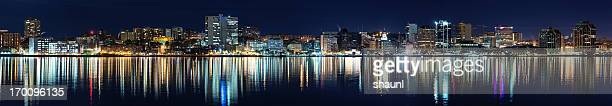 Still night in Halifax Harbour