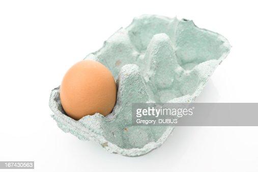 Ainda apenas um Ovo : Foto de stock