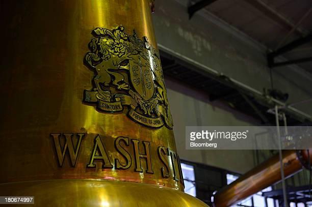 A still sits at Suntory Holdings Ltd's Yamazaki distillery in Shimamoto Osaka Japan on Friday Sept 13 2013 Suntory is a household name in Japan...