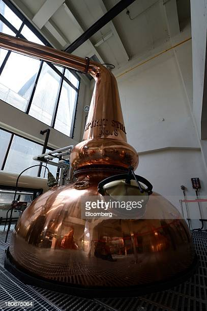 A still sits at Suntory Holdings Ltd's Yamazaki distillery in Shimamoto Osaka Japan on Friday Sept 13 2013 Suntory is a household name in Japan...