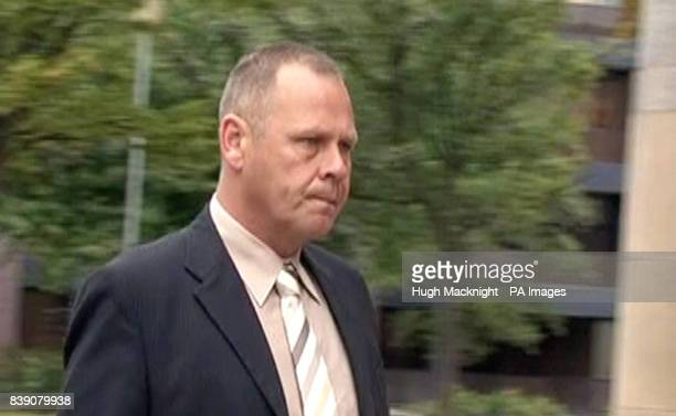 Still taken from video footage of Gary Catterick arriving at Teesside Crown Court where he is accused of raping a pregnant woman who offered him...