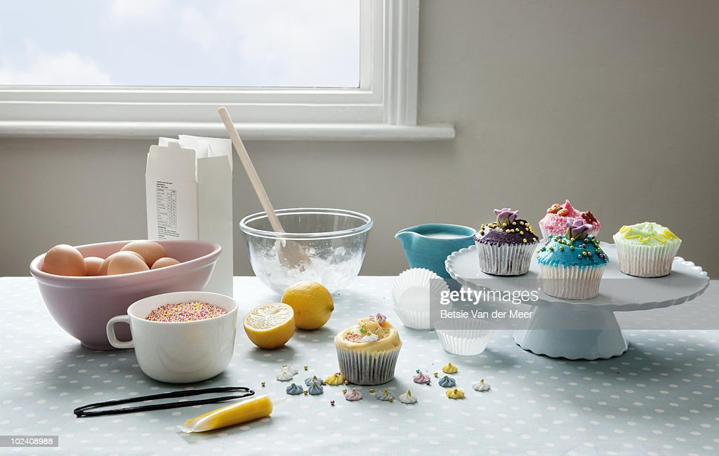 stilllife of baking cakes. : Foto de stock