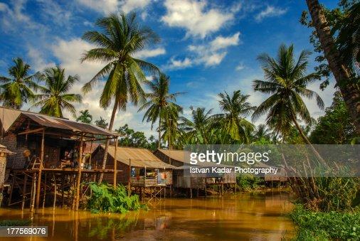 Stilt Houses on Water