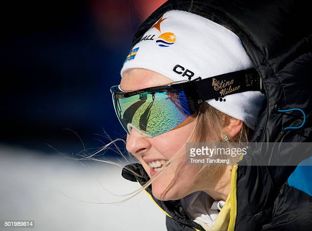 Stina Nilsson during FIS Cross Country World Cup 13 Sprint Free at Toblach on December 19 2015 in Toblach Hochpustertal Italy