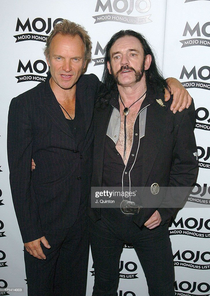 Mojo Honours List Awards 2004 - Press Room