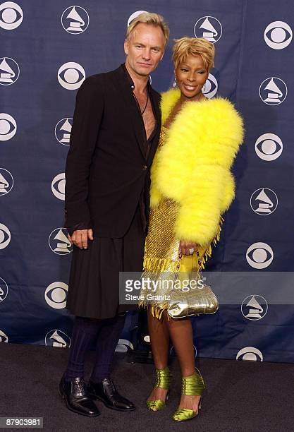 Sting and Mary J Blige winners of Best Pop Collaboration With Vocals