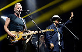 Sting and Shaggy Perform At O2 Apollo Manchester